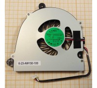 Вентилятор (кулер) для ноутбука Clevo W110 W150 W170