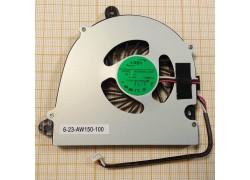 Вентилятор (кулер) для ноутбука Clevo W110 W150 W170 ver1