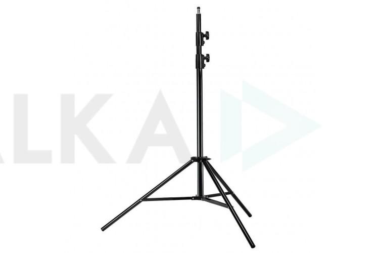 Напольная тренога для кольцевой лампы (2 метра) черная