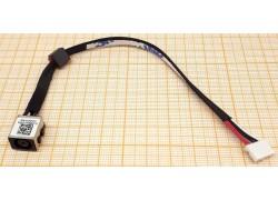 Разъем питания для ноутбука Dell 5540 с кабелем 16,5см