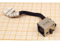 Разъем питания для ноутбука Dell E7440 с кабелем 4,5см