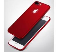Чехол ультратонкий пластиковый для Apple iPhone 6 Plus/6S Plus шелковистый Red