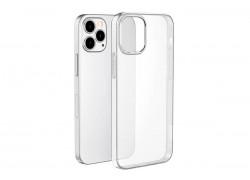 Силиконовый чехол iPhone 12 (5.4) тонкая тонированная