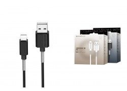 Кабель для iPhone BOROFONE BX11 UJet lightning cable 1м черный