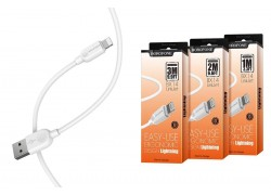 Кабель для iPhone BOROFONE BX14 LinkJet lightning cable 1м белый