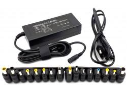 Универсальное зарядное устройство для ноутбука 90W + 16 переходников 3pin