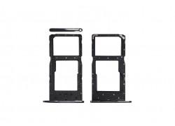 Держатель Sim Huawei Honor 10 Lite (черный)