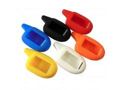 Чехол силиконовый для брелка автосигнализации SCHER-KHAN MAGICAR 7 цветной