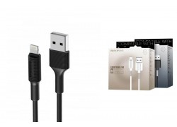 Кабель для iPhone BOROFONE BX1 EzSync lightning USB cable 1м черный