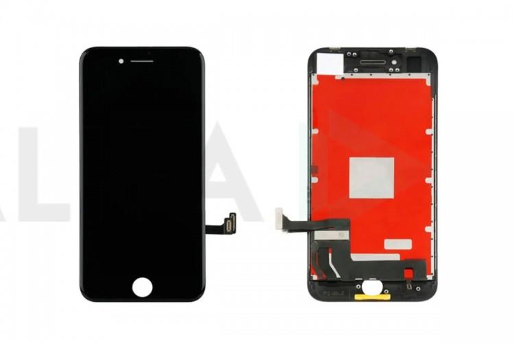 Дисплей для iPhone 7 (4.7) в сборе с тачскрином и рамкой (черный)