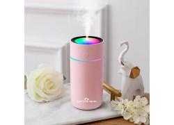 Увлажнитель воздуха Огонек OG-HOM01 Розовый