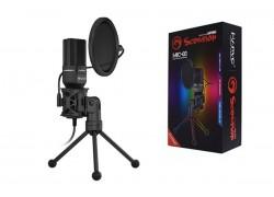 Микрофон игровой MARVO MIC-03,  проводной,  1.5 метра,  USB,  чёрный