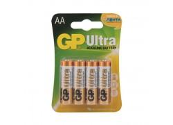 Батарея щелочная GP LR06 BL4/АА упаковка блистер цена за 4 шт