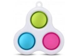 Simple Dimple брелок без спинера 3в1 (цвета в ассортименте)