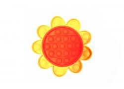 Силиконовая антистресс игрушка POPIT Цветок NEW (двухцветный)