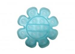 Силиконовая антистресс игрушка POPIT Цветок (неон, светится в темноте)