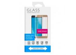 Защитное стекло дисплея Samsung Galaxy S10 Plus 5D черное Full Glue