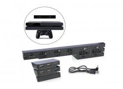 Блок охлаждения + блок USB HUB  для PS 4 PRO