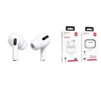 Беспроводные наушники BOROFONE BE38  Original series TWS Pro wireless headset белые ( серия PRO в комплекте с чехлом)