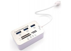 Разветвитель USB HUB + Card reader (USB3.0)