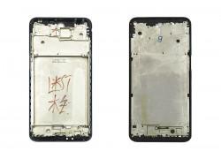 Средняя часть для Xiaomi Redmi Note 9S (рамка дисплея) черный