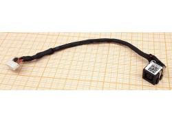 Разъем питания для ноутбука Dell Latitude E6420 с кабелем 14см