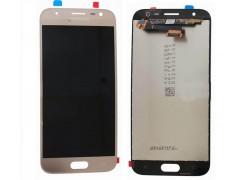 Дисплей для Samsung J330F/DS Galaxy J3 (2017) в сборе с тачскрином (золото), orig