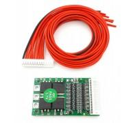 Контроллер заряда-разряда PCM для Li-Ion 3.7V 9S 25A (QS-B413ANL-25A V1.03)