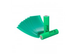 Термоусадочная плёнка для батареи 18650 (цвет зеленый)