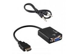 Видео переходник (HDMI-VGA/J3.5) Орбита OT-AVW21