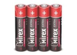 Батарея солевая Mirex R03 / AAA 1,5V  цена за 4 шт (4/60/2400), shrink (23702-ER03-S4)