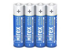 Батарея щелочная Mirex LR03 / AAA 1,5V  цена за 4 шт (4/40/1000), shrink (23702-LR03-S4)