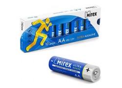 Батарея щелочная Mirex LR6 / AA 1,5V  цена за 10 шт (10/480), multipack (23702-LR6-M10)
