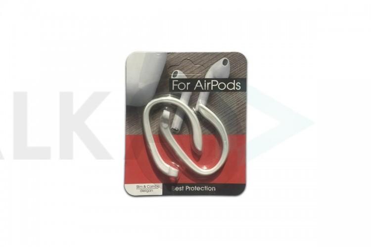 Держатель AirPods Hook для беспроводных наушников, белый