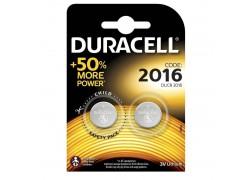 Батарейка литиевая Duracell DL2016 BL2 цена за блистер 2 шт