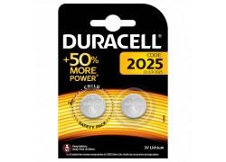 Батарейка литиевая Duracell DL2025 BL2 цена за блистер 2 шт