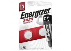Батарейка литиевая Energizer Lithium CR2025 BL2 цена за блистер 2 шт