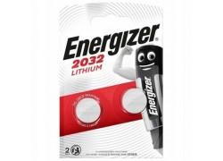 Батарейка литиевая Energizer Lithium CR2032 BL2 цена за блистер 2 шт