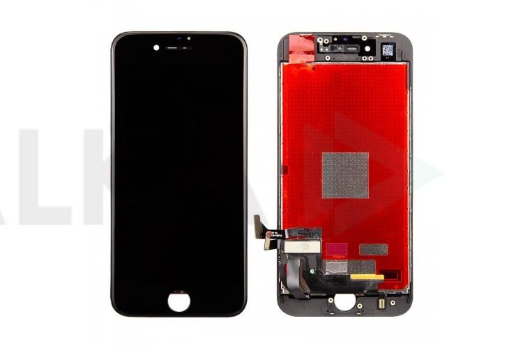 Дисплей для iPhone 8 (4.7) в сборе с тачскрином и рамкой (черный)