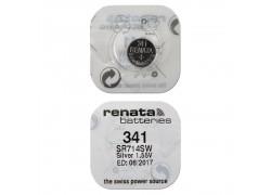 Батарейка литиевая Renata R341 (SR714SW) BL1 блистер цена за 1 шт (Швейцария)