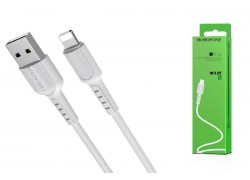 Кабель для iPhone BOROFONE BX16 Easy charging cable for Lightning 1м белый