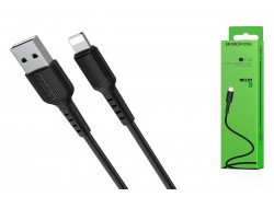 Кабель для iPhone BOROFONE BX16 Easy charging cable for Lightning 1м черный