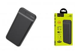 Универсальный дополнительный аккумулятор HOCO  J52 New joy mobile power bank 10000 mAh черный