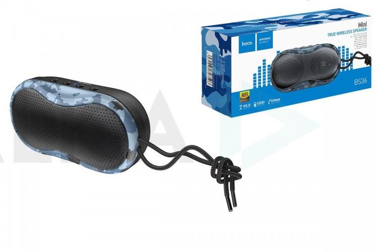 Портативная беспроводная акустика HOCO BS36 Hero sports sound sports wireless speaker цвет черная