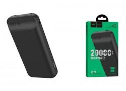 Универсальный дополнительный аккумулятор HOCO J52A power bank (20000 mAh) черный