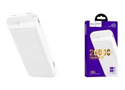Универсальный дополнительный аккумулятор HOCO J52A New joy mobile power bank(20000mAh) белый