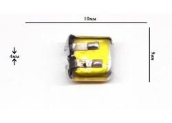 Аккумулятор универсальный 10x9x4 3.7V (400910P)