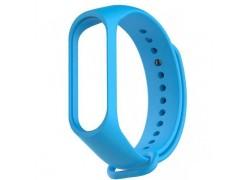 Ремешок силиконовый для XIAOMI MI Band 3/MI Band 4 цвет голубой
