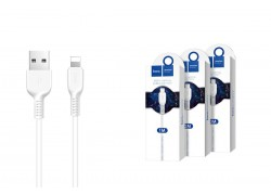 Кабель для iPhone HOCO X20 Flash lightning cable 1м белый