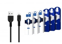 Кабель для iPhone HOCO X20 Flash lightning cable 1м черный